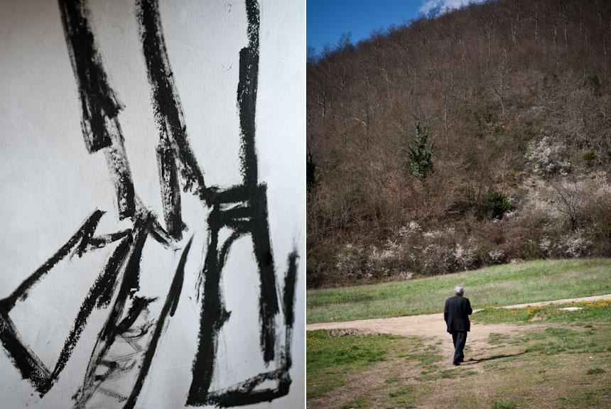 Wallpaper* Magazine, Jannis Kounellis portrait by Andrea Ferrari